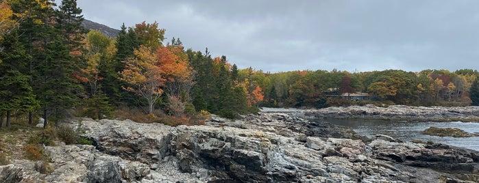 Schooner Head Overlook is one of Maine.