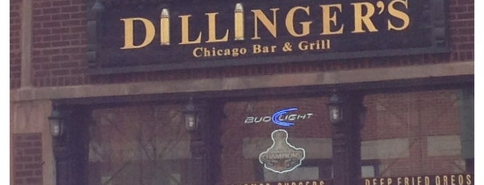 Dillinger's is one of Bars.