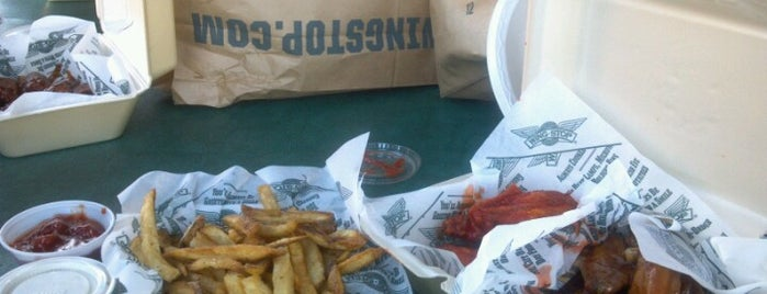 Wingstop is one of Locais salvos de Ron.