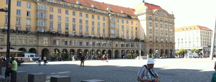 Altmarkt is one of Dresden.