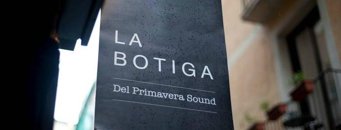 La Botiga del Primavera Sound is one of Bcn Pendientes de ir.