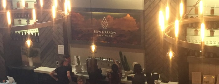 Bow & Arrow Brewing Co. is one of New Mexico Breweries.