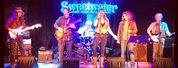 Sweetwater Music Hall is one of North SF.