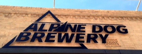 Alpine Dog Brewing Company is one of Denver.