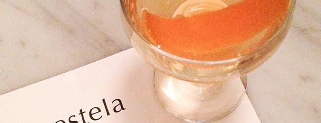 Estela is one of Manhattan Drinks.