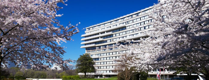 The Watergate Hotel is one of Washington DC.