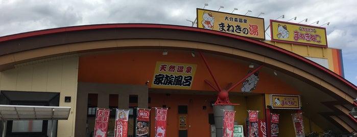 大分森温泉 まねきの湯 is one of 温泉.