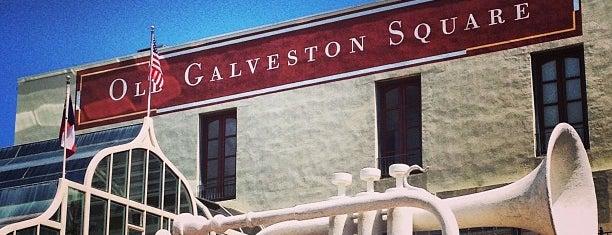 Old Galveston Square is one of Lugares favoritos de Sergio M. 🇲🇽🇧🇷🇱🇷.