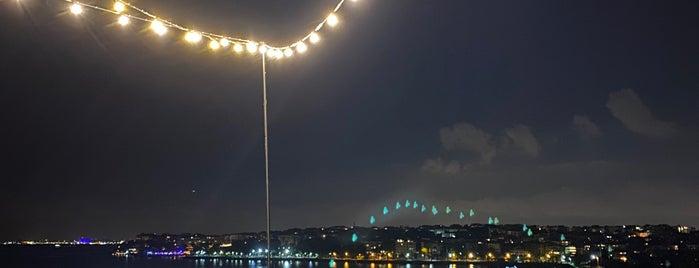 Jigger Roof Bar Wyndham Grand Kalamış Marina is one of Istanbul 2015.