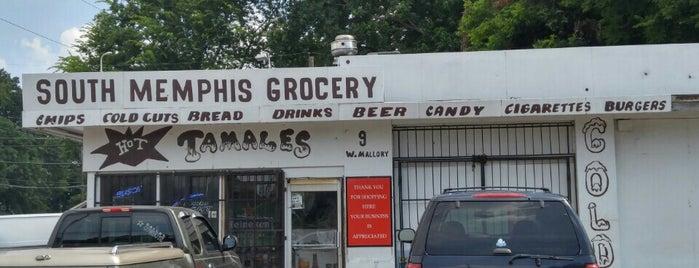 South Memphis Grocery is one of Tempat yang Disukai Bradley.