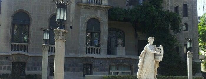 Palacio Falabella is one of Monumentos Nacionales.