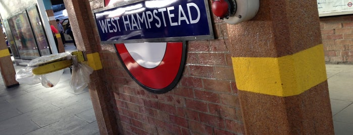 West Hampstead London Underground Station is one of kazahel: сохраненные места.