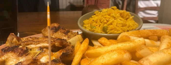 Nando's is one of Orte, die Chris gefallen.