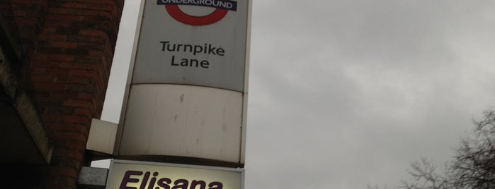 Turnpike Lane Bus Station is one of Spring Famous London Story.