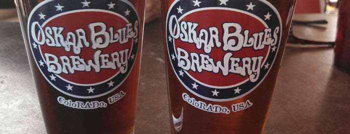 Oskar Blues Grill & Brew is one of Lugares guardados de Brent.