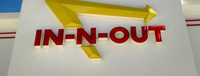 In-N-Out Burger is one of Kevin': сохраненные места.