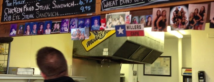 Miller's Cafe is one of Houston Press 2013 - Burger Bracket.