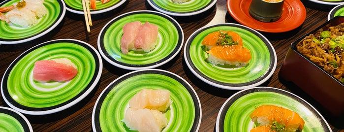 Kura Revolving Sushi Bar is one of Locais curtidos por Rebecca.