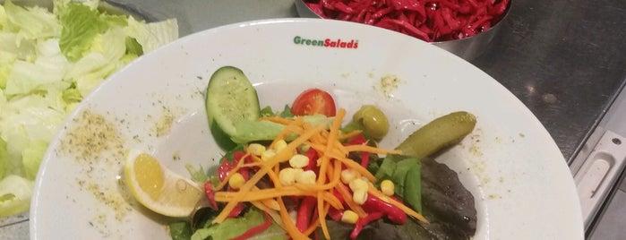 Green Salads is one of Locais curtidos por Evrim.