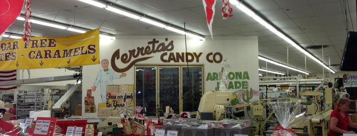 Cerreta Candy Co is one of Places I Recommend to Visit.