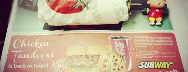 SUBWAY is one of Makan @ KL #8.