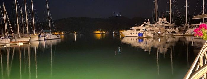 Grida Port is one of Fethiye/Meğri ⛵️.