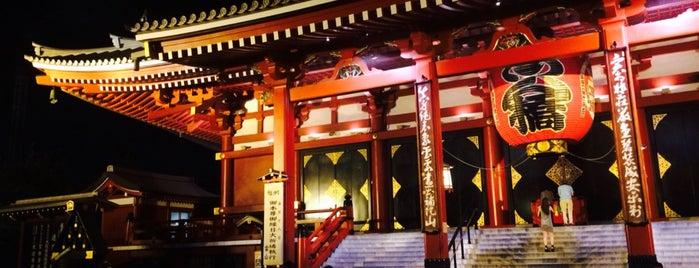 Templo Sensō-ji is one of Lugares favoritos de Cynthia Calzada.