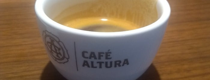 Café Altura is one of [ Santiago ].