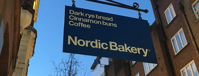 Nordic Bakery Covent Garden is one of London cafe & sweets.