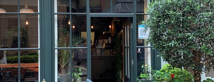 Hide Away Coffee is one of LDN - Brunch/coffee/ breakfast.