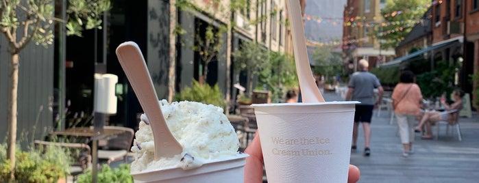 Ice Cream Union is one of LDN - Brunch/coffee/ breakfast.
