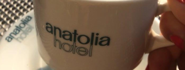 Anatolia Hotel Komotini is one of Posti che sono piaciuti a Gülşah.