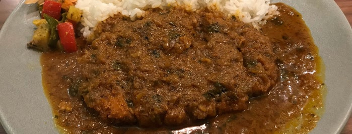 FISH is one of TOKYO-TOYO-CURRY 4.