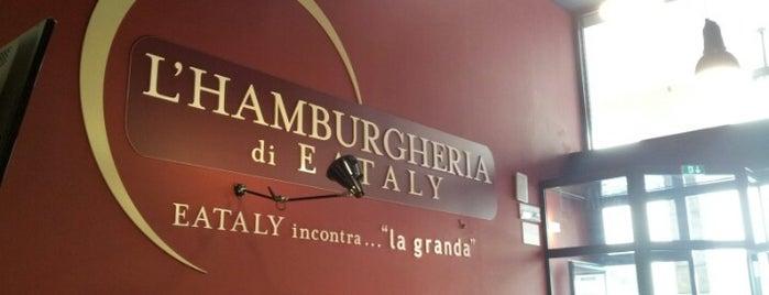 Hamburgeria di Eataly is one of Bergamo 🇮🇹.