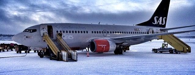 Kiruna Airport (KRN) is one of Airports Worldwide....