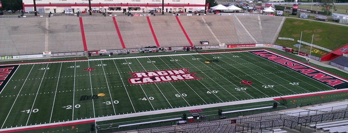 Cajun Field is one of FBS Stadiums.