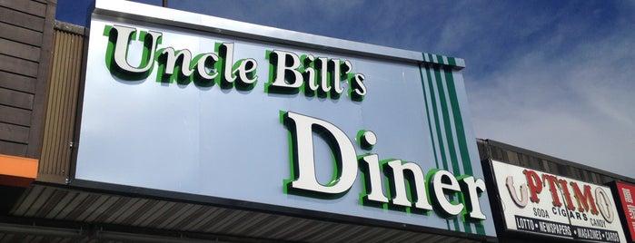 Uncle Bill's Diner is one of Tempat yang Disukai Mario.