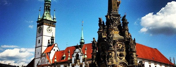 Sloup Nejsvětější Trojice is one of UNESCO World Heritage Sites in Eastern Europe.