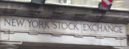 New York Stock Exchange is one of US Landmarks.