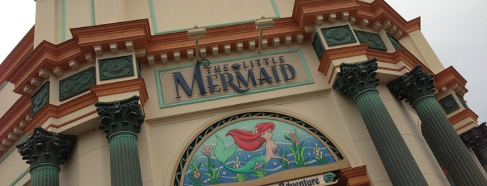 The Little Mermaid ~ Ariel's Undersea Adventure is one of Tempat yang Disukai Carmen.