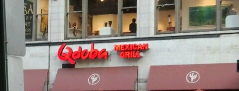 Qdoba Mexican Grill is one of Gregory's Liked Places.