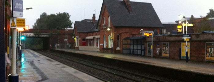 Urmston Railway Station (URM) is one of UK.