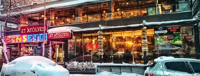 Et Atölyesi Kebap & Steak House is one of Erdem'in Beğendiği Mekanlar.