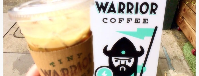 Tiny Warrior Coffee is one of Sister 'hoods: SoMa & Capitol Hill.