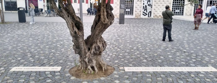 Monumento A Saramago is one of Lugares favoritos.