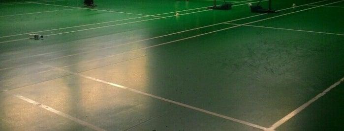 Setia Alam Badminton Court is one of Farrah : понравившиеся места.