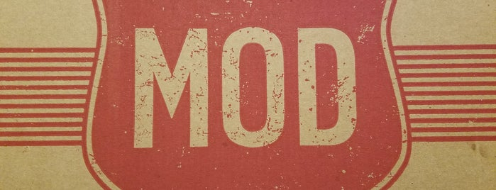 MOD Pizza is one of Tempat yang Disukai Jared.