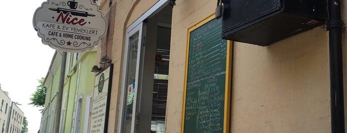 Nice Kafe & Ev Yemekleri is one of สถานที่ที่บันทึกไว้ของ (((ekin))).