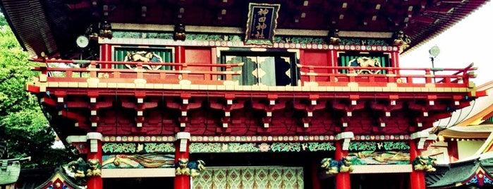 Kanda Myojin Shrine is one of Tokyo.