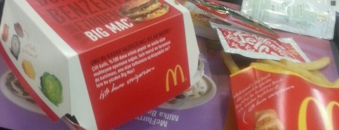 McDonald's is one of İstanbul.